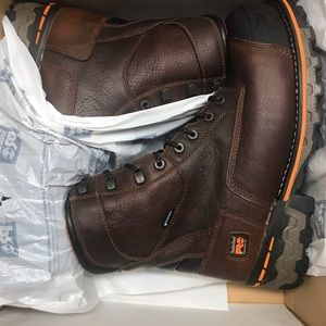 "Timberland pro Boondock 8"" work boots"